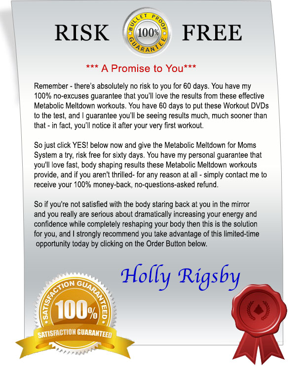 Risk Free 60 Day Guarantee